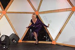 Pamela Anderson at Sambazonia presented by Sushisamba and Cool Earth at SushiSamba, 110 Bishopsgate, City of London England. 28 February 2017.