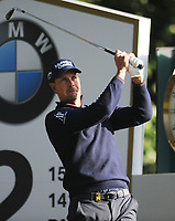 Golf - 2019 BMW PGA Championship - Thursday, First Round<br /> <br /> Henrik Stenson of Sweden tees off at the 2nd hole, at the West Course, Wentworth Golf Club.<br /> <br /> COLORSPORT/ANDREW COWIE