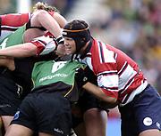 Northampton, Northamptonshire,  18th September 2004, Franklyn Gardens, [Mandatory Credit Pete Spurrier/Intersport Images]Zurich Premiership - Northampton - Saints vs Gloucester. <br /> <br /> Gloucester skipper and flanker , Jake Boer.