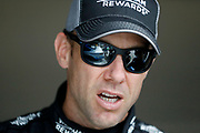 NASCAR Cup Series driver Matt Kenseth stands in the garage area before a practice run at Kansas Speedway in Kansas City, Kan., Friday, May 11, 2018. (AP Photo/Colin E. Braley)