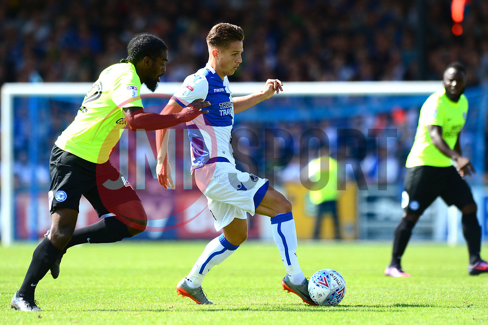 Tom Nichols of Bristol Rovers - Mandatory by-line: Dougie Allward/JMP - 12/08/2017 - FOOTBALL - Memorial Stadium - Bristol, England - Bristol Rovers v Peterborough United - Sky Bet League One