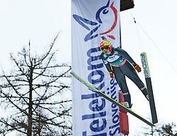 17.03.2011, Planica, Kranjska Gora, SLO, FIS World Cup Finale, Ski Nordisch, Skiflug, im Bild Tom Hilde (NOR, #67) // Tom Hilde (NOR) during a training session of the Ski Jumping World Cup finals in Planica, Slovenia, 17/3/2011. EXPA Pictures © 2011, PhotoCredit: EXPA/ J. Groder