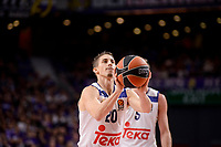 Real Madrid's Jaycee Carroll during Turkish Airlines Euroleague match between Real Madrid and Maccabi at Wizink Center in Madrid, Spain. January 13, 2017. (ALTERPHOTOS/BorjaB.Hojas)