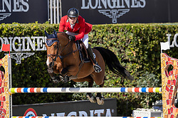 Balsinger Bryan, SUI, Jenkins ter Doorn<br /> Longines FEI Jumping Nations Cup™ Final<br /> Barcelona 20128<br /> © Hippo Foto - Dirk Caremans<br /> 05/10/2018