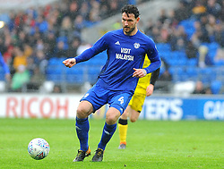 Sean Morrison of Cardiff City in action  - Mandatory by-line: Nizaam Jones/JMP- 30/03/2018 -  FOOTBALL -  Cardiff City Stadium- Cardiff, Wales -  Cardiff City v Burton Albion - Sky Bet Championship