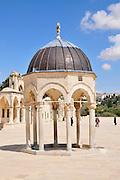 Israel, Jerusalem Old City, a Dome on Haram esh Sharif (Temple Mount)