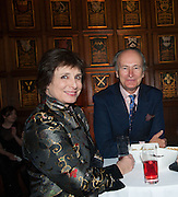 GEORGINA BOOTHBY; COUNT CHRISTOPHE GOLLUT, The Almeida Theatre  celebrates Mike Attenborough's 11 brilliant years as Artistic Director. Middle Temple Hall,<br /> Middle Temple Lane, London, EC4Y 9AT