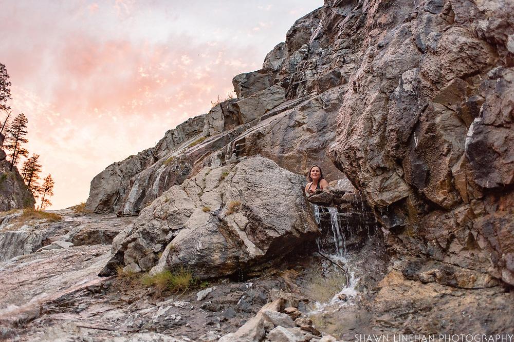 Pine Flat Hot Springs in Idaho