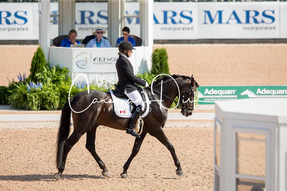 Sheffield Roberta, CAN, Bailaor<br /> World Equestrian Games - Tryon 2018<br /> © Hippo Foto - Sharon Vandeput<br /> 19/09/18