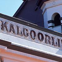 Detail of Kalgoorlie City markets building