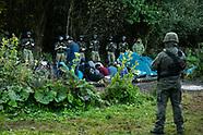Usnarz Górny. Migranci na granicy koczują już 12 dzień - 20.08.2021