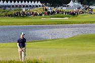 15-09-2017 - Foto van het KLM Open 2017 gespeeld op The Dutch in Spijk.. Daan Huizing op vrijdag, ronde 1