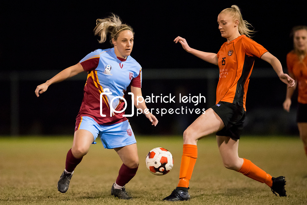 BRISBANE, AUSTRALIA - JULY 22:  during the round 15 PlayStation 4 National Premier Leagues Queensland match between Eastern Suburbs and University of Queensland FC on July 22, 2017 in Brisbane, Australia. (Photo by Patrick Leigh Perspectives)