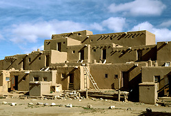 New Mexico: Taos Indian Pueblo,  Photo: nmindi105.Photo copyright Lee Foster, www.fostertravel.com, 510/549-2202, lee@fostertravel.com