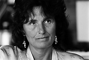 Margaret Forster, award winning author best known for her novels Georgy Girl and Diary of an Ordinary Woman. Photographed at home in North London in September 1984.