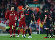 Diego Costa of Atletico Madrid is substituted during the UEFA Champions League match at Anfield, Liverpool. Picture date: 11th March 2020. Picture credit should read: Darren Staples/Sportimage