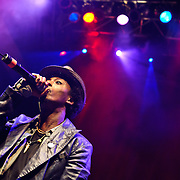 April 4, 2010 (Washington, D.C.) - Somali rapper K'Naan  performs at the 9:30 Club in Washington, D.C.  opening for Wale. (Photo by Kyle Gustafson)