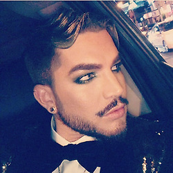 """Adam Lambert releases a photo on Instagram with the following caption: """""""". Photo Credit: Instagram *** No USA Distribution *** For Editorial Use Only *** Not to be Published in Books or Photo Books ***  Please note: Fees charged by the agency are for the agency's services only, and do not, nor are they intended to, convey to the user any ownership of Copyright or License in the material. The agency does not claim any ownership including but not limited to Copyright or License in the attached material. By publishing this material you expressly agree to indemnify and to hold the agency and its directors, shareholders and employees harmless from any loss, claims, damages, demands, expenses (including legal fees), or any causes of action or allegation against the agency arising out of or connected in any way with publication of the material."""