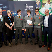 """27.04.2016.          <br />  Kalin Foy and Ciara Coyle win SciFest@LIT<br /> Kalin Foy and Ciara Coyle from Colaiste Chiarain Croom to represent Limerick at Ireland's largest science competition.<br /> <br /> Ardscoil Ris students, Liam Mulcahy, Neil Heffernan and Seán Lynch's project , """"The Internet of Green Things"""" - Monitoring greenhouse growing conditions remotely over the Internet, won the SEAI Energy Award. Liam Mulcahy, Neil Heffernan and Seán Lynch are pictured with George Porter, SciFest and Brian Ahern, Intel<br /> <br /> Of the over 110 projects exhibited at SciFest@LIT 2016, the top prize on the day went to Kalin Foy and Ciara Coyle from Colaiste Chiarain Croom for their project, 'To design and manufacture wireless trailer lights'. The runner-up prize went to a team from John the Baptist Community School, Hospital with their project on 'Educating the Youth of Ireland about Farm Safety'.  Picture: Alan Place"""