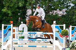 08, Youngster-Springprfg. Kl. M* 6-8j. Pferde,, Ehlersdorf, Reitanlage Jörg Naeve, 15. - 18.07.2021, Michael Ziems (GER), Constanzehof´s Happy Bellini,