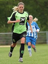 FODBOLD: Anette Ancker Jørgensen (Taastrup FC) under kampen i 3F Ligaen mellem Taastrup FC og OB den 12. maj 2012 i Taastrup Idrætspark. Foto: Claus Birch