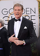 DAVID HASSELHOFF @ the 73rd Annual Golden Globe awards held @ the Beverly Hilton hotel.<br /> ©Exclusivepix Media