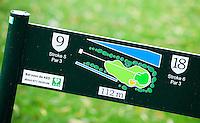 NOORDWIJK - Holebord. op de tee. Golfcentrum Noordwijk. COPYRIGHT KOEN SUYK