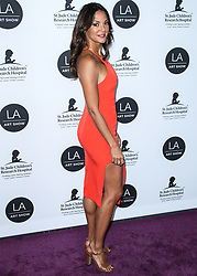 LOS ANGELES, CA, USA - JANUARY 23: Los Angeles Art Show 2019 Opening Night Gala held at the Los Angeles Convention Center on January 23, 2019 in Los Angeles, California, United States. 23 Jan 2019 Pictured: Eva LaRue. Photo credit: Xavier Collin/Image Press Agency / MEGA TheMegaAgency.com +1 888 505 6342