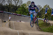 #436 (MIR Amidou) FRA at the 2016 UCI BMX Supercross World Cup in Papendal, The Netherlands.