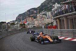 May 26, 2019 - Monte Carlo, Monaco - xa9; Photo4 / LaPresse.26/05/2019 Monte Carlo, Monaco.Sport .Grand Prix Formula One Monaco 2019.In the pic: Carlos Sainz Jr (ESP) Mclaren F1 Team MCL34 (Credit Image: © Photo4/Lapresse via ZUMA Press)