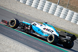 February 28, 2019 - Montmelo, BARCELONA, Spain - George Russel (Williams Racing) FW42 car, seen in action during the winter testing days at the Circuit de Catalunya in Montmelo (Catalonia), Thursday, February 28, 2019. (Credit Image: © AFP7 via ZUMA Wire)