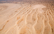 Sand dunes of an old dried up lake in the Flinders Ranges, South Australia, Australia