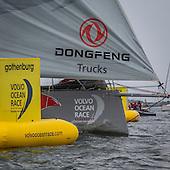 Volvo Ocean Race the end at Göteborg