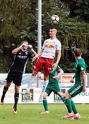 28.06.2017, Steinbergstadion, Leogang, AUT, Testspiel, FC Red Bull Salzburg vs FC Akhmat Grozny, im Bild Evgeny Gorodov (Grozny), Mergim Berisha (RBS) // during the friendly football match between FC Red Bull Salzburg and FC Akhmat Grozny at the Steinbergstadion, Leogang, Austria on 2017/06/28. EXPA Pictures © 2017, PhotoCredit: EXPA/ Johann Groder