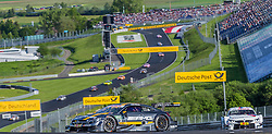 21.05.2016, Red Bull Ring, Spielberg, AUT, DTM Red Bull Ring, Rennen, im Bild Paul Di Resta (GBR, Mercedes-AMG C 63 DTM), Martin Tomczyk (GER, BMW M4 DTM) // during the DTM Championships 2016 at the Red Bull Ring in Spielberg, Austria, 2016/05/21, EXPA Pictures © 2016, PhotoCredit: EXPA/ Dominik Angerer