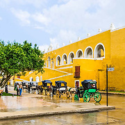 Town of Izamal. Yucatan, Mexico.
