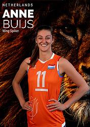 Anne Buijs of Netherlands, Photoshoot selection of Orange women's volleybal team season 2021on may 12, 2021 in Arnhem, Netherlands (Photo by RHF Agency/Ronald Hoogendoorn)