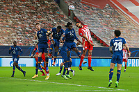 PIRAEUS, GREECE - DECEMBER 09: Action during the UEFA Champions League Group C stage match between Olympiacos FC and FC Porto at Karaiskakis Stadium on December 9, 2020 in Piraeus, Greece. (Photo by MB Media)