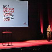 NLD/Amsterdam/20191002 - Laurentien bij ECF Princess Margriet Award for Culture, Prinses Laurentien