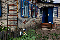 A home is seen in Kiev, Ukraine, June 17, 2011. More than half of the worldÕs population, four billion people live outside the rule of law, with no effective title to property, access to courts or redress for official abuse. The Open Society Justice Initiative is involved in building capacity and developing pilot programs through the use of community-based advocates and paralegals in Sierra Leone, Ukraine and Indonesia. The pilot programs, which combine education with grassroots tools to provide concrete solutions to instances of injustice, help give poor people some measure of control over their lives.