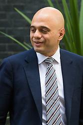 Downing Street, London, June 16th 2015. Business Secretary Sajid Javid leaves 10 Downing Street following the weekly cabinet meeting.