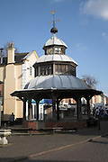 Market Cross, North Walsham, Norfolk, England. North Walsham is a small market town in north Norfolk.