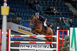 Hassmann Felix, GER, Sig Chaccinus<br /> Stuttgart - German Masters 2018<br /> © Hippo Foto - Stefan Lafrentz