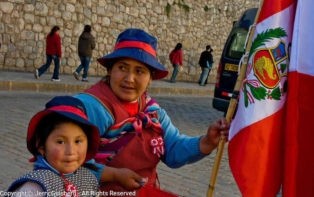 Proud people of Cuzco, Peru.