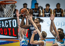 Ouedraogo  Yvan of France during basketball match between National teams of Slovenia and France in the Group Phase C of FIBA U18 European Championship 2019, on July 27, 2019 in Nea Ionia Hall, Volos, Greece. Photo by Vid Ponikvar / Sportida