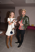 Natalie Joel; Hugo Taylor, , Serpentine Gallery and Harrods host the Future Contempories Party 2016. Serpentine Sackler Gallery. London. 20 February 2016