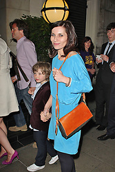 © London News Pictures. 25/06/2013. London, UK.  Kate Fleetwood at the Charlie and the Chocolate Factory - Opening Night After Party . Photo credit: Brett D. Cove/LNP