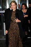 Uitreiking Koning Willem I prijs. De prijs, in de vorm van een beeldje, werd in de Nederlandse bank - Amsterdam uitgereikt door koningin Máxima, erevoorzitter van de stichting. <br /> <br /> King Willem I Award ceremony. The price in the form of a statuette, was in the Dutch banking - Amsterdam awarded by Queen Máxima, Honorary President of the Foundation.<br /> <br /> Op de foto / On the photo:  Koningin Maxima / Queen Maxima