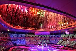 Cerimônia de abertura dos jogos Pan-Americanos de Guadalajara 2011, no estádio Omnilife. FOTO: Jefferson Bernardes/Preview.com