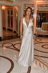 Vicky Lee at The Cartier Racing Awards 2018 held at The Dorchester, Park Lane, England. 13 November 2018. <br /> <br /> ***For fees please contact us prior to publication***